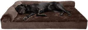X-Jumbo-Pet-Bed-Orthopedic-Sofa-L-Shaped-Chaise-Couch-Furheaven