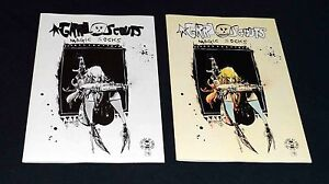 Grrl Scouts Magic Socks #1 Image Comics Blind Box Sketch Variant Set NM 2017 PWC