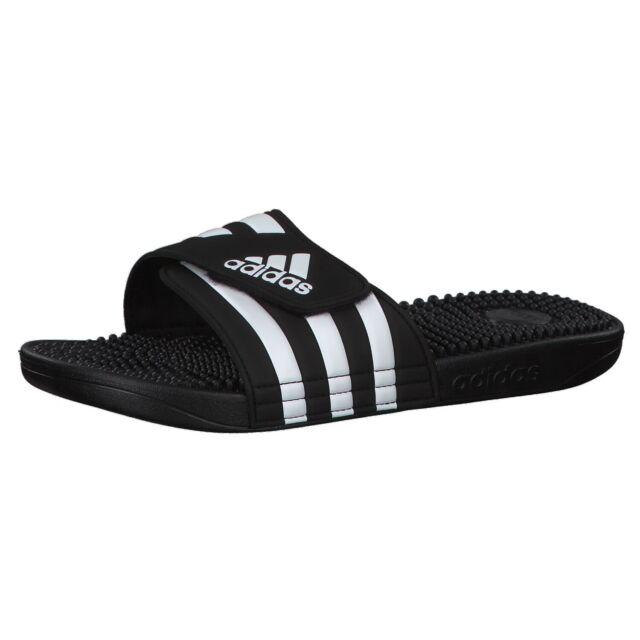 adidas Adissage Badeschuhe für Herren Schwarz, EU 43
