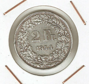 Switzerland-2-Francs-1944B-XF