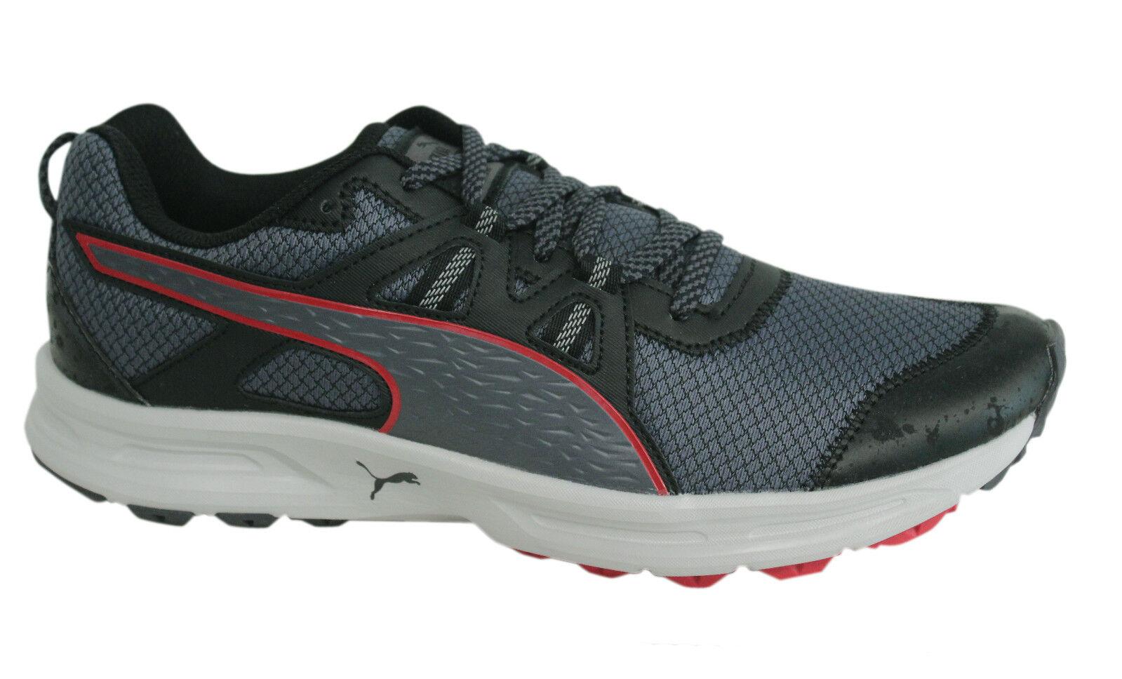 Puma Descendant Mens Lace Up Black Trainers Running Shoes 188167 04 M2 Cheap women's shoes women's shoes