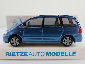 Rietze-21090-Ford-Galaxy-I-2000-2006-in-blaumetallic-1-87-H0-NEU-OVP