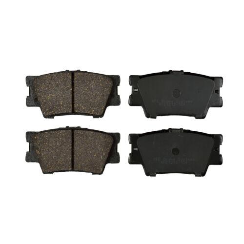 REAR New Premium Ceramic Disc Brake Pad Plus Shims Fits Toyota Lexus KFE1212-104