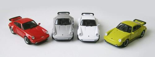PORSCHE 911 Turbo Modellauto 11,5cm Modell Auto Metall Spielzeugauto 4 Farben 53