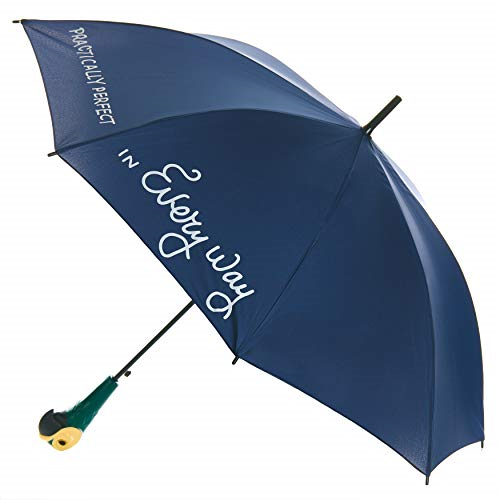 Paladone Mary Poppins Umbrella with Parrot Handle - Officially Licensed Disney