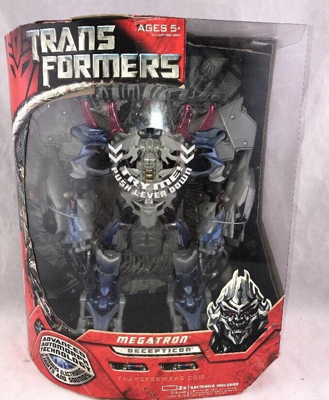 Transformers 2007 Movie Leader Class Megatron MISB