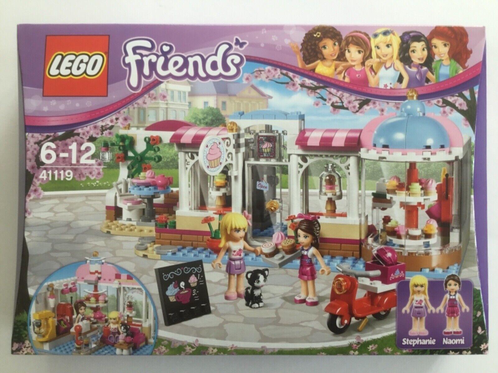 LEGO Friends  41119-heartlakes Cupcake-Café-Neuf NEUF dans sa boîte  soutenir le commerce de gros