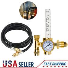 Argon Co2 Mig Tig Flow Meter Regulator Welding Gas Welder Gauge With 10ft Gas Hose