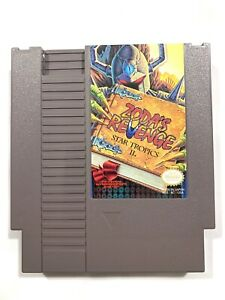 Zoda-039-s-Revenge-StarTropics-2-Original-Nintendo-Nes-Cleaned-amp-Tested-Authentic