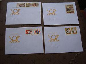 Germany-Rda-4-Envelopes-cy87-German