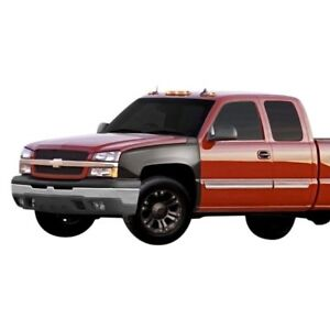 Details about For Chevy Silverado 3500 03-06 Front Fenders Off Road Bulge  Style Fiberglass