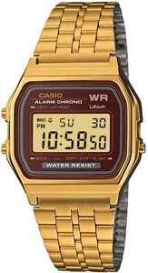 CASIO WATCH VINTAGE RETRO 80's BRAND NEW & GENUINE A159WGEA-5D