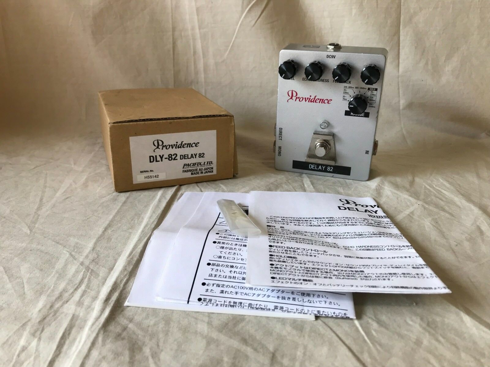 Providence DELAY 82 DLY-82 very rare pedal   made in Japan w  box