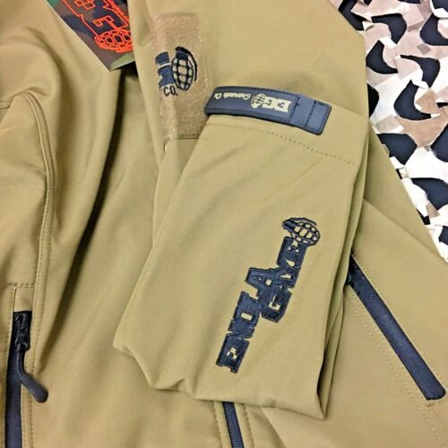 Tan Details about  /NEW Enola Gaye TechOne Windbreaker Jacket Large