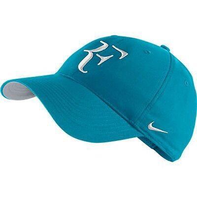 5606343ae5e NEW Nike Hybrid RF Roger Federer Hat 371202-421 Neo Turquoise