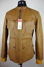 TOMMY HILFIGER LYLA Leather Moto Jacket Damen Lederjacke Gr.S NEU mit ETIKETT