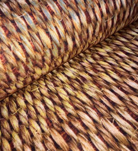 160cm Breit Braune Sisal Weidenkorb Stoff Vorhang Polster Baumwolle Leinen
