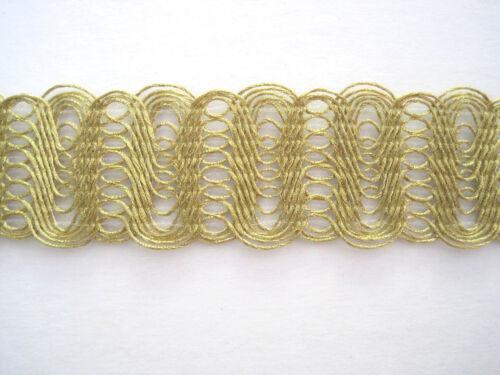 1 m Feine Borte Gold BO-GB-1262