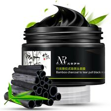 Bamboo Charcoal Facial Tear Pull Nose Blackhead Mask Gel Cleasing Remover MC