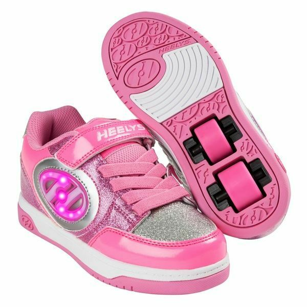 Heelys X2 Plus Light Up Shoes - Neon