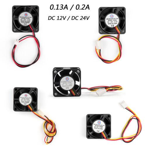 Cooling CPU Computer Fan Ball Bearing Sleeve Bearing 40×20mm DC Brushless UE