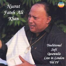 Nusrat Fateh Ali KHAN / Traditional Sufi Qawwalis - Vol.4 / (1 CD) / NEUF