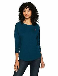 18c4ccfcd97 NEW NWT US Polo Assn Women s Long Sleeve Fashion T-Shirt