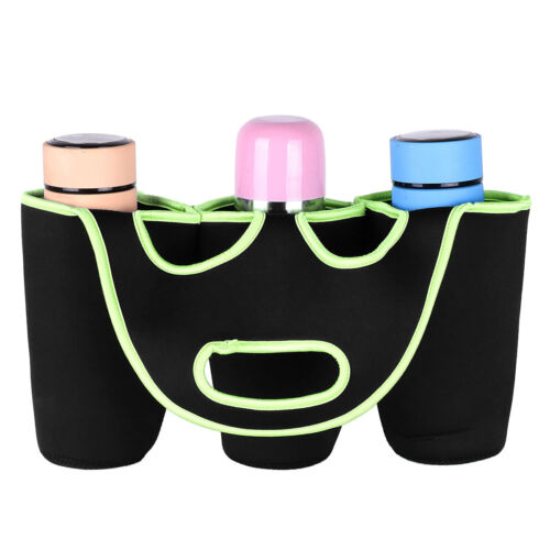 1P Insulated Bottle Cup Holder Carrier Tote Bag for Carrying Coffee Soft Drink