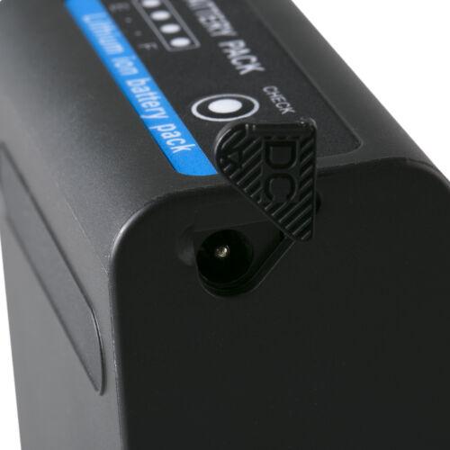 und DC 8,4V NP-F750mit 5V USB Ausg Akku für Sony NP-F98010050mAh65237
