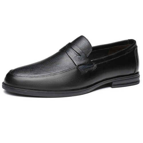 Details about  /Mens Oxfords Slip on Pointy Toe Work Office Casual Dress Formal Business Shoes L