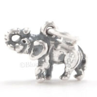 3d Elephant Africa Safari Zoo Charm Pendant 925 Sterling Silver Jewelry Small