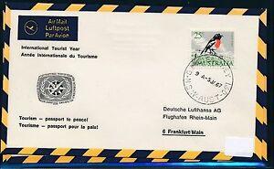 82027-LH-So-LP-034-Tourismus-034-Jahr-Sydney-Frankfurt-9-1-67-sp-cover-bird