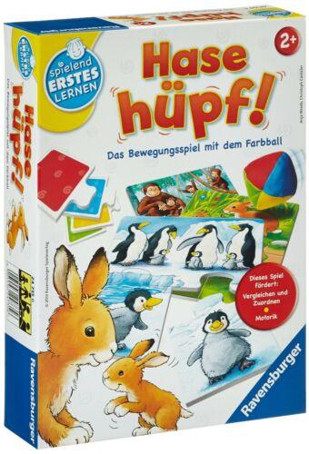 Hase Hüpf Das Bewegungsspiel mit dem Farbball Spielend Ers Ravensburger 24735