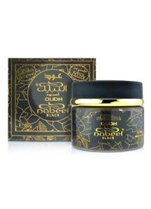 OUDH-Nabeel-Black-60-Grams-Bakhoor-Incense-chips-Agarwood-Maker-Of-Touch-Me