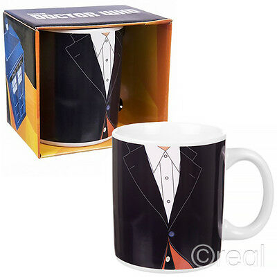 New Doctor Who 4th Tom Baker Or 12th Peter Capaldi Costume Mug Coffee Official