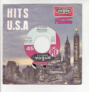 The-SEARCHERS-Vinyl-45T-7-NEEDLES-AND-PINS-SATURDAY-NIGHT-OUT-VOGUE-15184-RARE