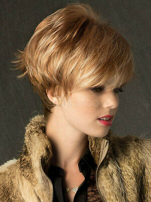 Fashion Hair Wig New Sexy Women's Short Blonde Wigs+Free Shipping