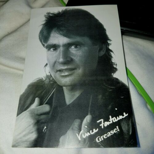 Monkees Davy Jones Grease Postcard AS Vince Fomtayne