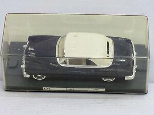 Buick-1950-Cabrio-mit-Softtop-in-schwarz-o-OVP-mit-Vitrine-Verem-1-43