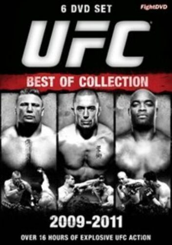 1 of 1 - UFC - Best of Collection 2009-2011 (DVD, 2012, 6-Disc Set)