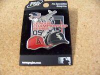 2005 Anaheim Angels vs Chicago White Sox League Series pin A.L.C.S ALCS
