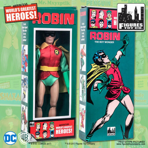 DC Comics Robin 8 inch Action Figure in Retro Box