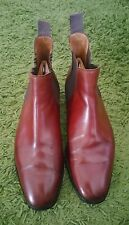 209- Boots chukka marron Crockett & Jones CHELSEAS 6E/40 bon état