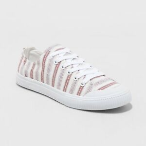 Women's June Canvas Lace up Sneakers