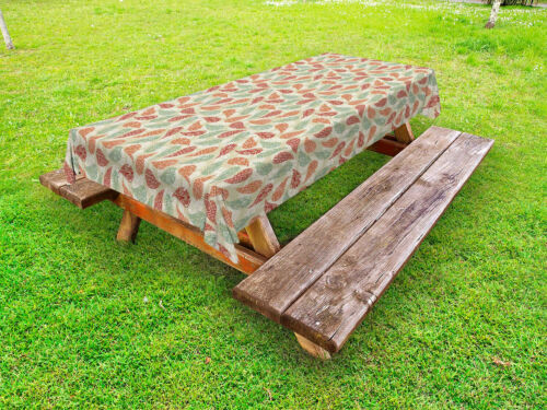 Paisley Pattern Outdoor Picnic Tablecloth in 3 Sizes Washable Waterproof