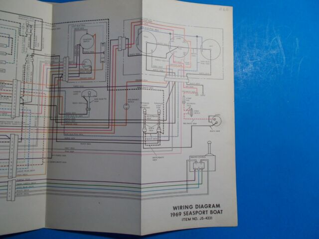 1969 Johnson Seasport Boat Wiring Diagram Js