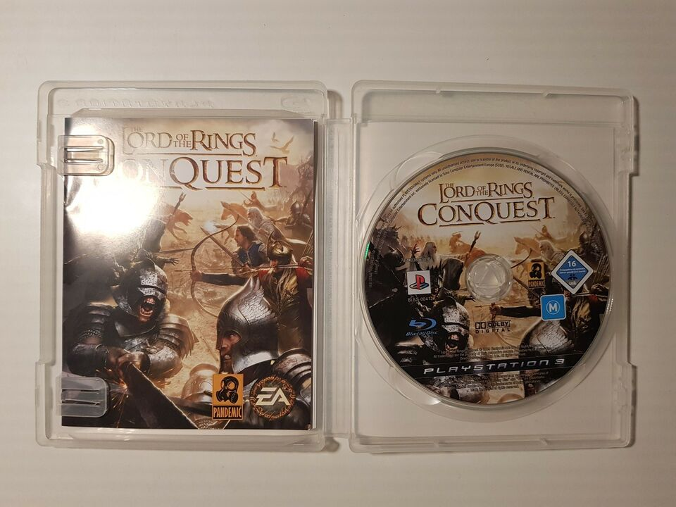 Lord of the rings, PS3