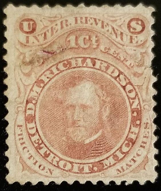 D.M. Richardson U.S. Internal Revenue 1c RO154a Private