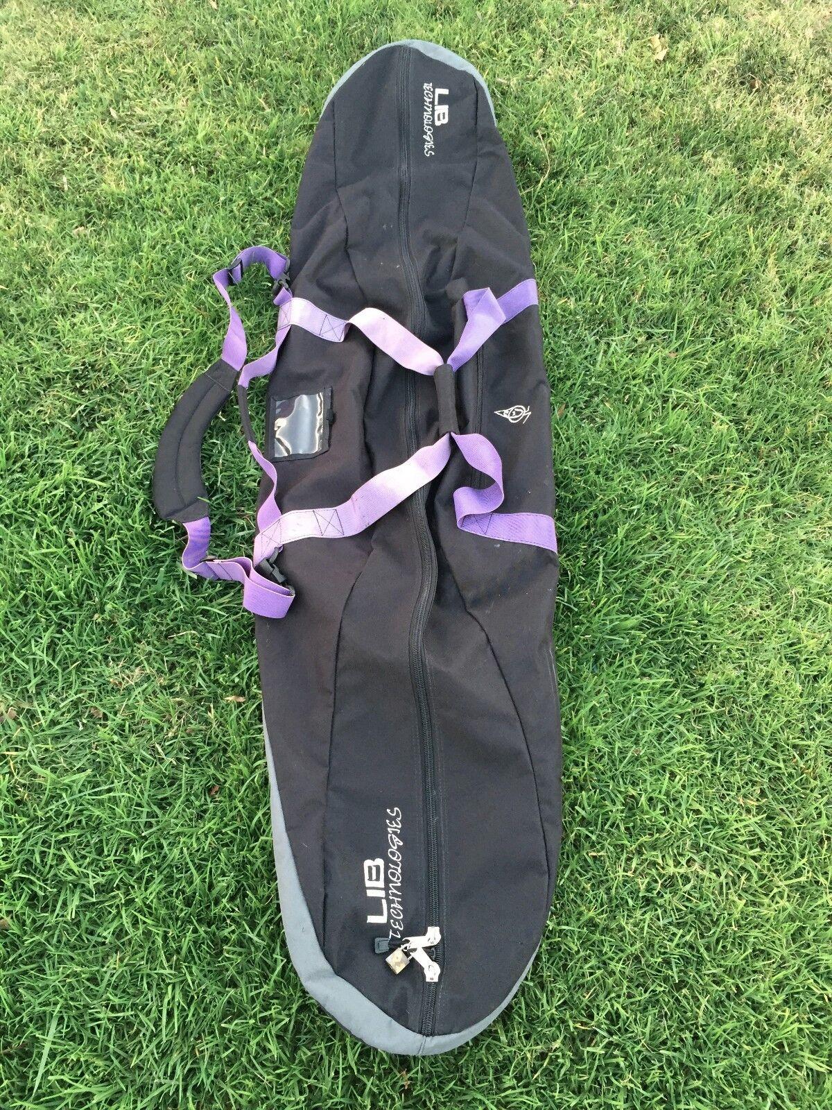 Vintage Lib FREE Tech Snowboard Bag FREE Lib SHIP poly mervin b39d3f