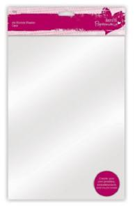 Papermania-Horno-Hornear-A4-claro-reducir-laminas-de-plastico-Paquete-de-10